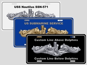 Dolphin License Plates (Personalized)